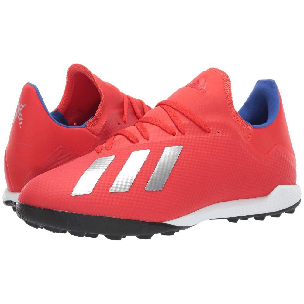 アディダス adidas メンズ サッカー シューズ・靴【X 18.3 TF】Active Red/Silver Metallic/Bold Blue