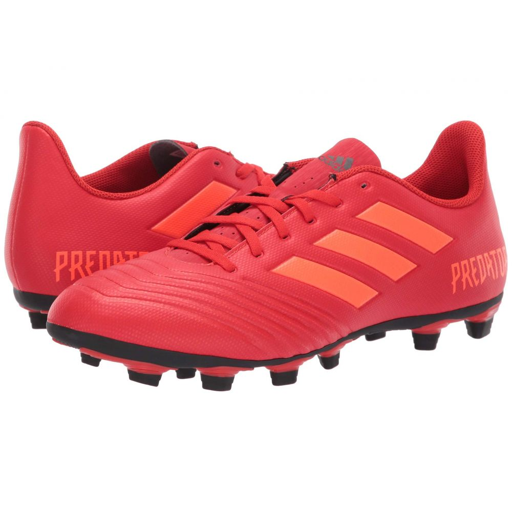 アディダス adidas メンズ サッカー シューズ・靴【Predator 19.4 FxG】Active Red/Solar Red/Core Black