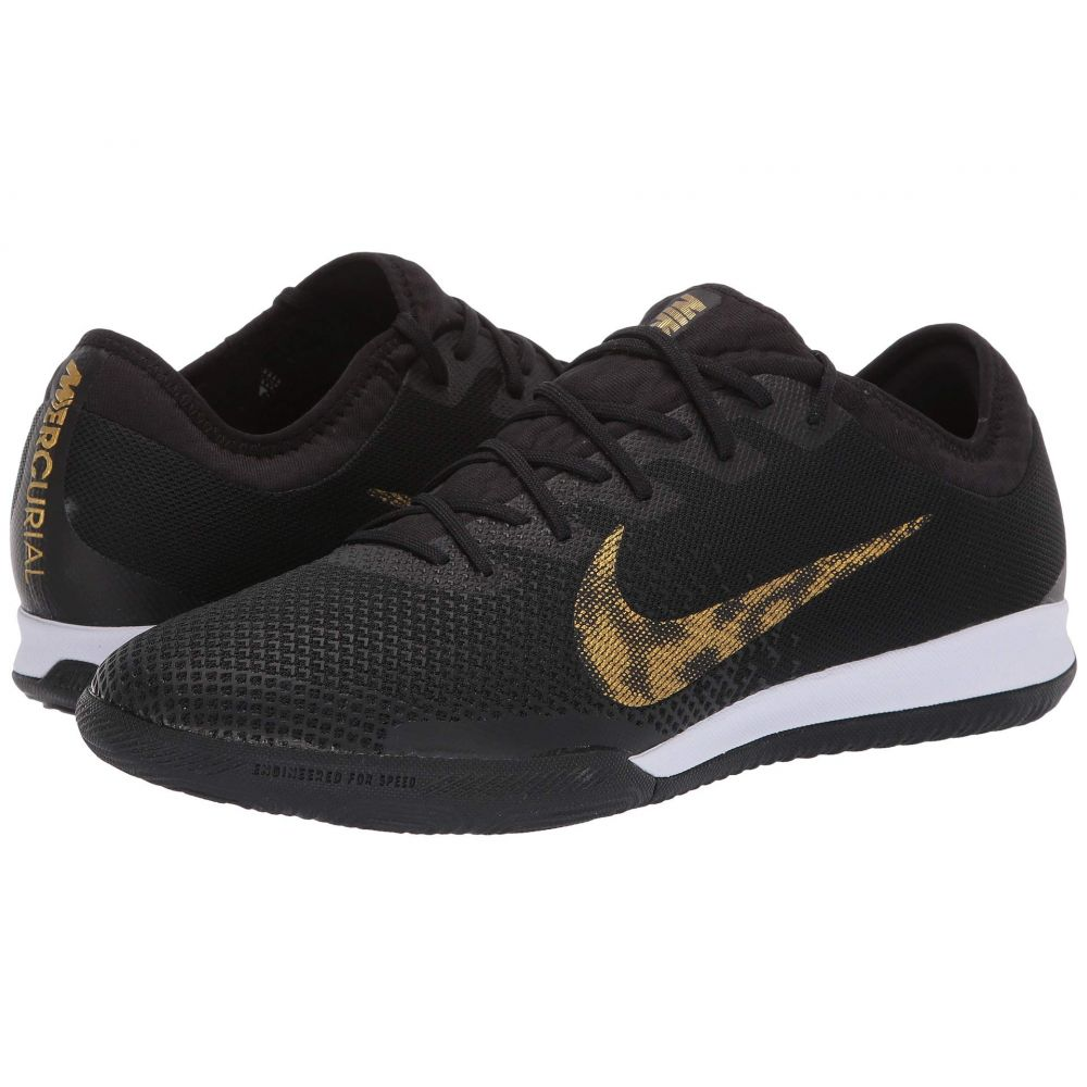 ナイキ Nike メンズ サッカー シューズ・靴【VaporX 12 Pro IC】Black/Metallic Vivid Gold
