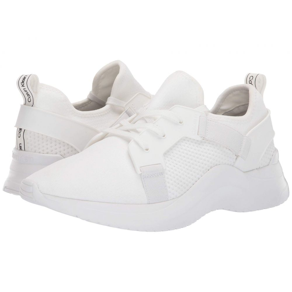 カルバンクライン Calvin Klein メンズ シューズ・靴 スニーカー【Unni】White Textured Knit