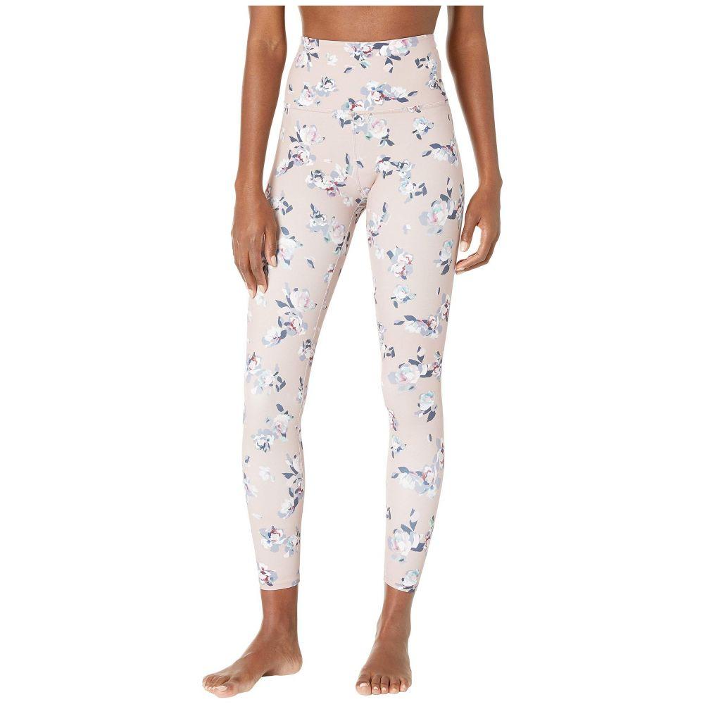 ビヨンドヨガ Beyond Yoga レディース インナー・下着 スパッツ・レギンス【Olympus High-Waisted Midi Leggings】Impressionist Floral Blush