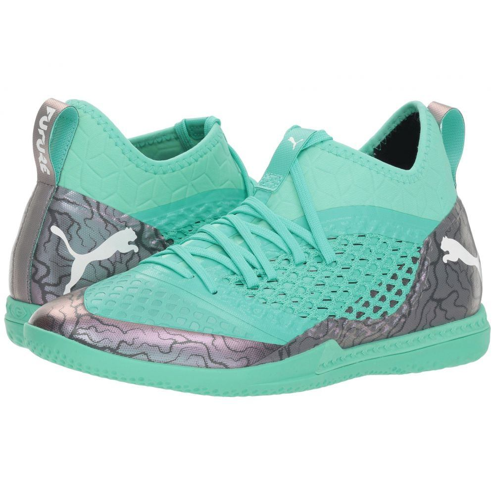 プーマ PUMA メンズ サッカー シューズ・靴【Future 2.3 Netfit IT】Color Shift/Biscay Green/Puma White/Puma Black