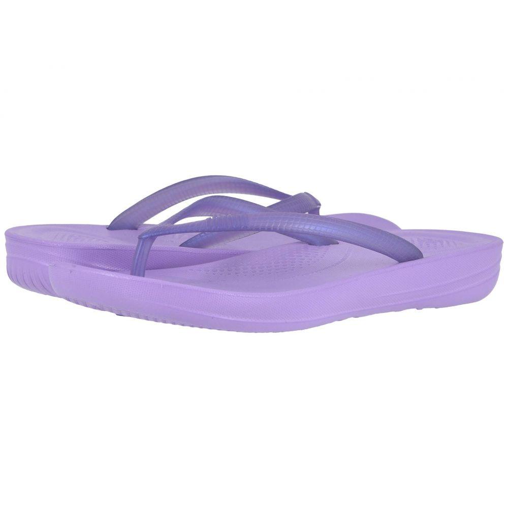 フィットフロップ FitFlop レディース シューズ・靴 ビーチサンダル【Iqushion Ergonomic Flip-Flop】Frosted Lavender Pearlised