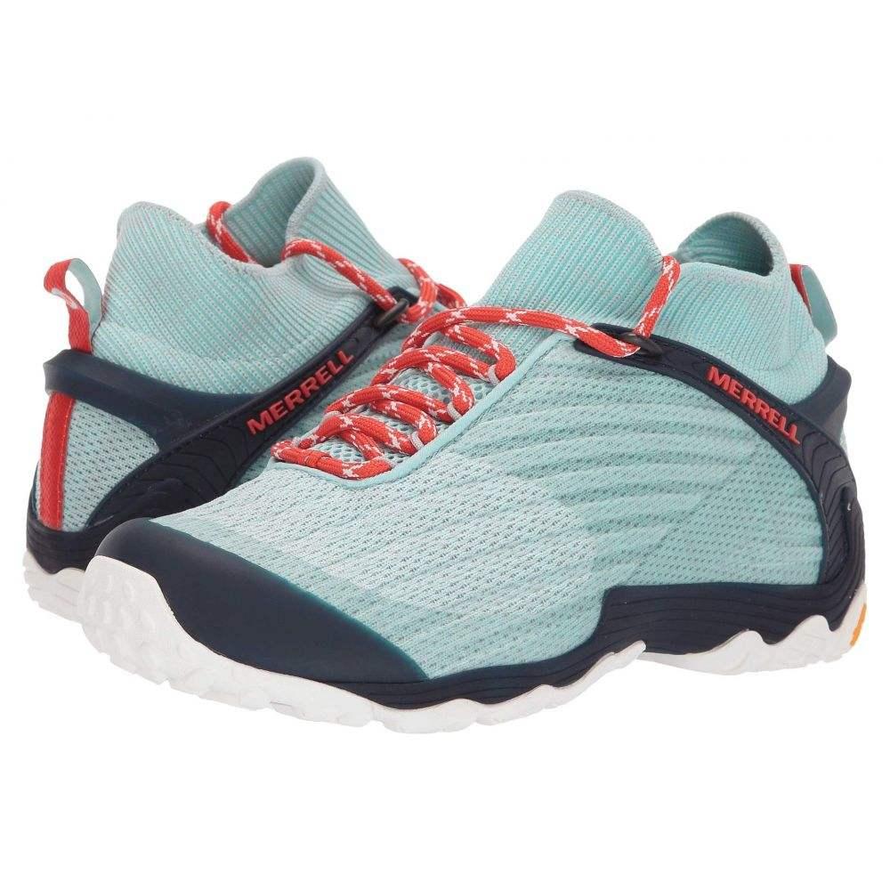 メレル Merrell レディース ハイキング・登山 シューズ・靴【Chameleon 7 Knit Mid】Bleached Aqua