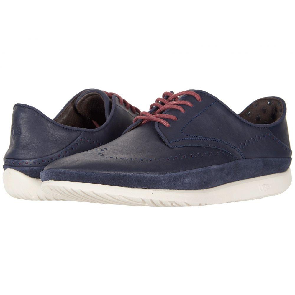 アグ UGG メンズ シューズ・靴 革靴・ビジネスシューズ【Cali Wing-Toe Derby】Navy Leather