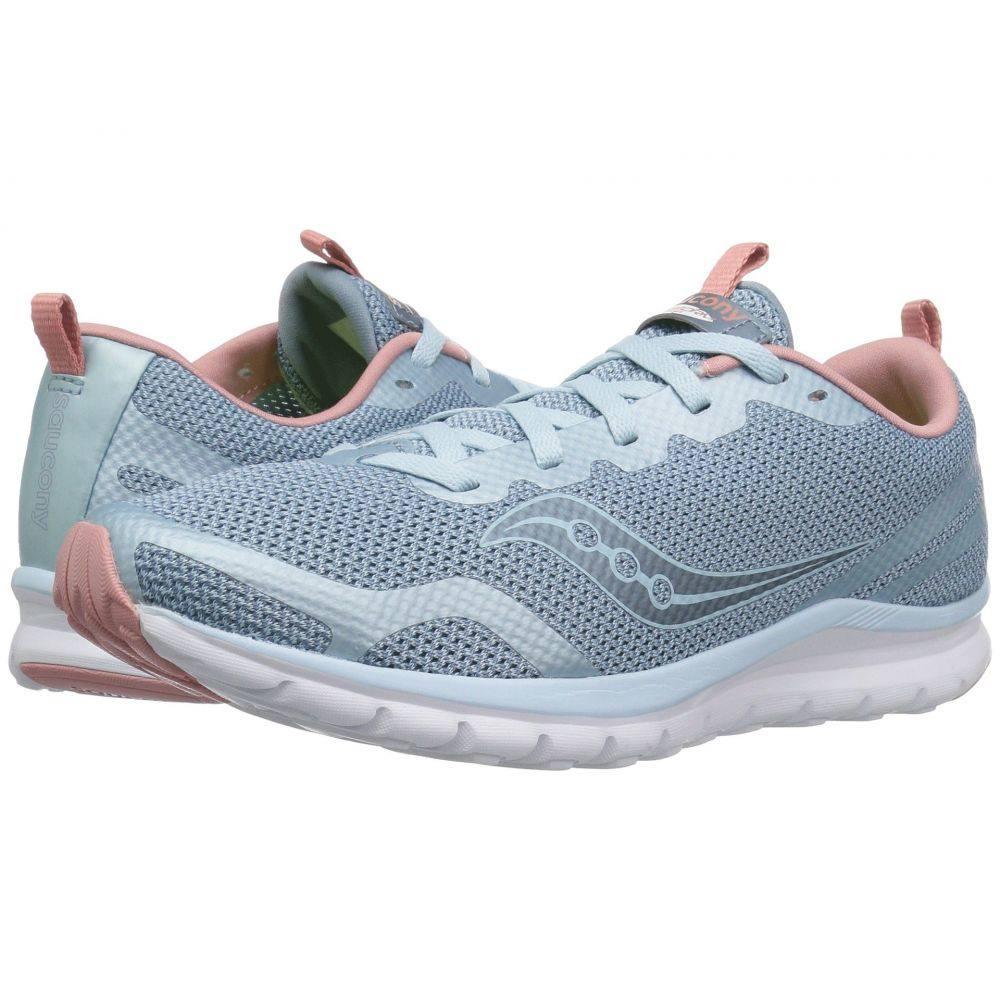 サッカニー Saucony レディース ランニング・ウォーキング シューズ・靴【Liteform Feel】Light Blue/Silver
