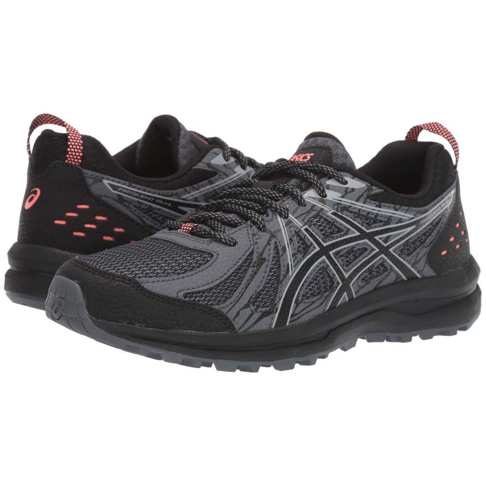 アシックス ASICS レディース ランニング・ウォーキング シューズ・靴【Frequent Trail】Black/Piedmont Grey