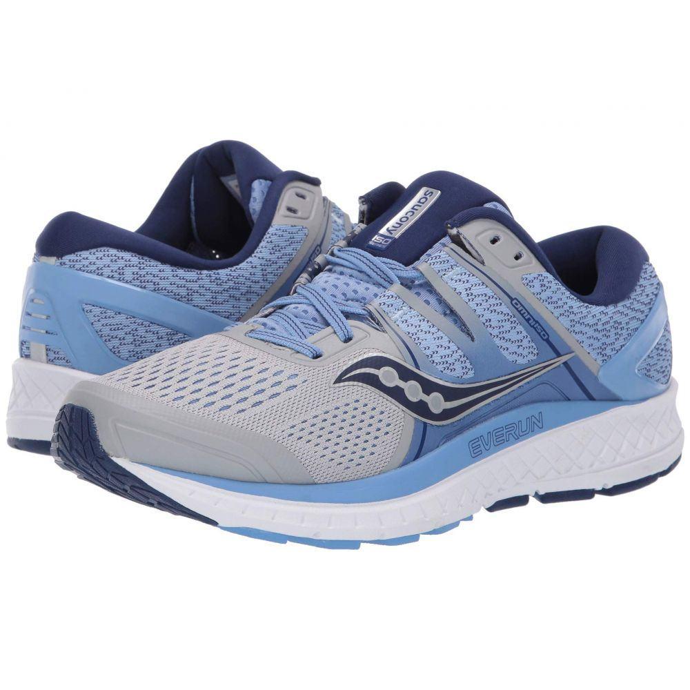 サッカニー Saucony レディース ランニング・ウォーキング シューズ・靴【Omni ISO】Silver/Blue/Navy