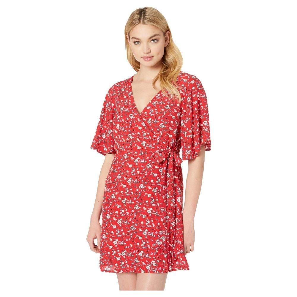 サンクチュアリ Sanctuary レディース ワンピース・ドレス ワンピース【Girl On Fire Faux Wrap Dress】Simply Red