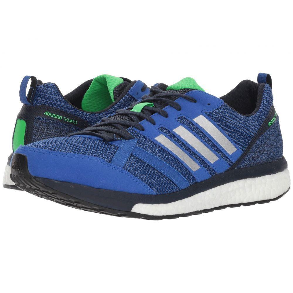 アディダス adidas Running メンズ ランニング・ウォーキング シューズ・靴【adiZero Tempo 9】Hi-Res Blue/Silver Metallic/Legend Ink