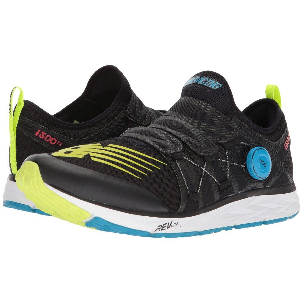 ニューバランス New Balance メンズ ランニング・ウォーキング シューズ・靴【1500v4 Boa】Black/Hi-Lite/Vivid Coral/Maldives Blue
