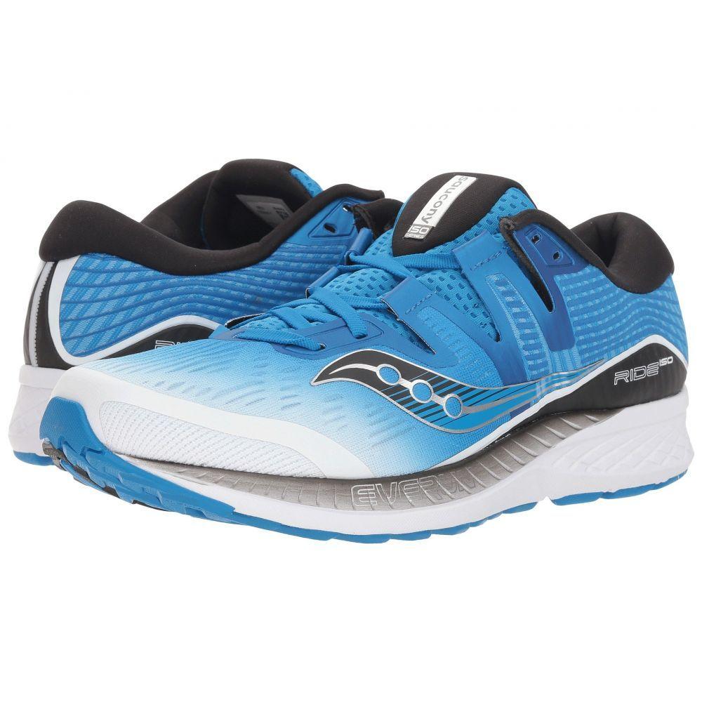 サッカニー Saucony メンズ ランニング・ウォーキング シューズ・靴【Ride ISO】White/Black/Blue