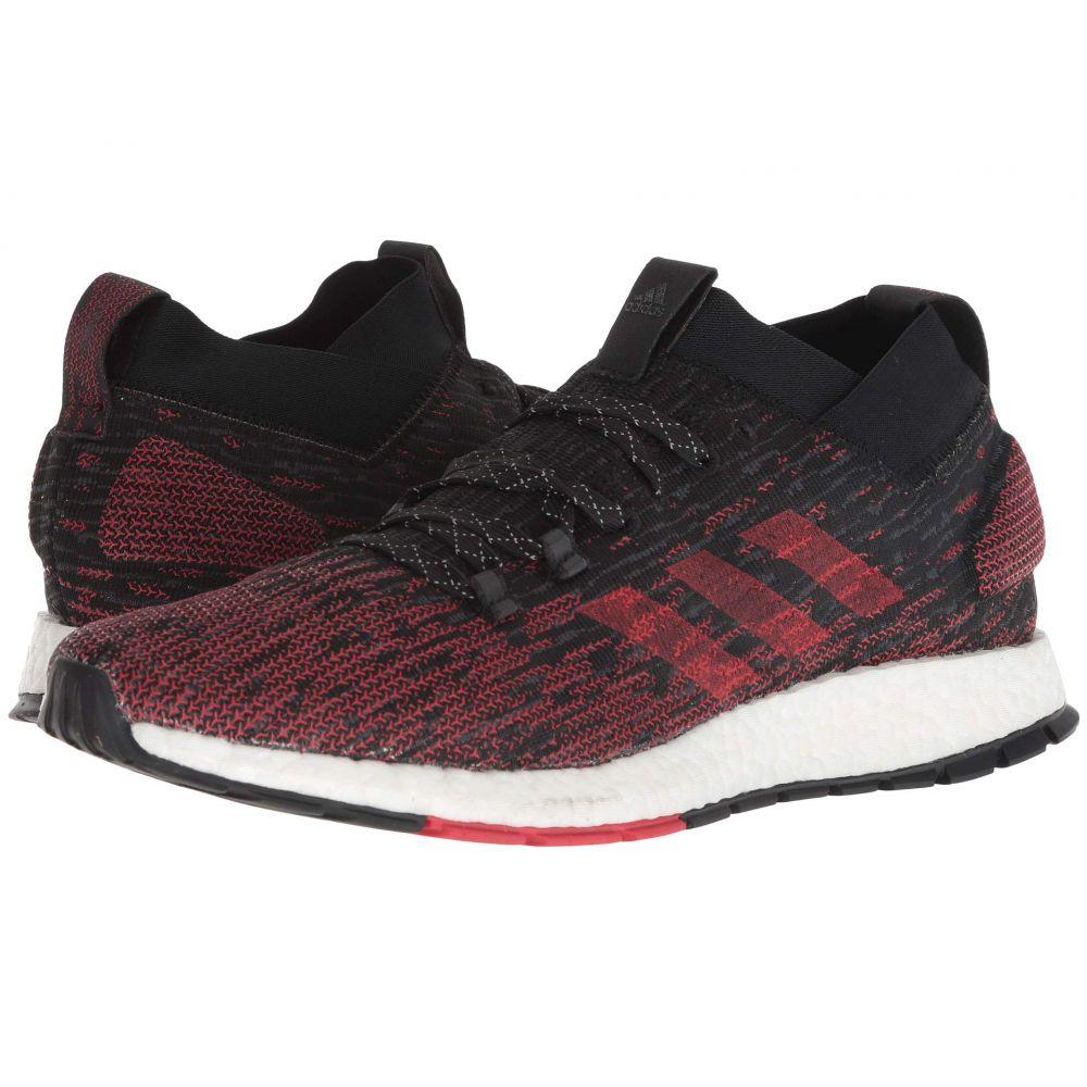 アディダス adidas Running メンズ ランニング・ウォーキング シューズ・靴【PureBOOST RBL】Black/Grey Three/Scarlet