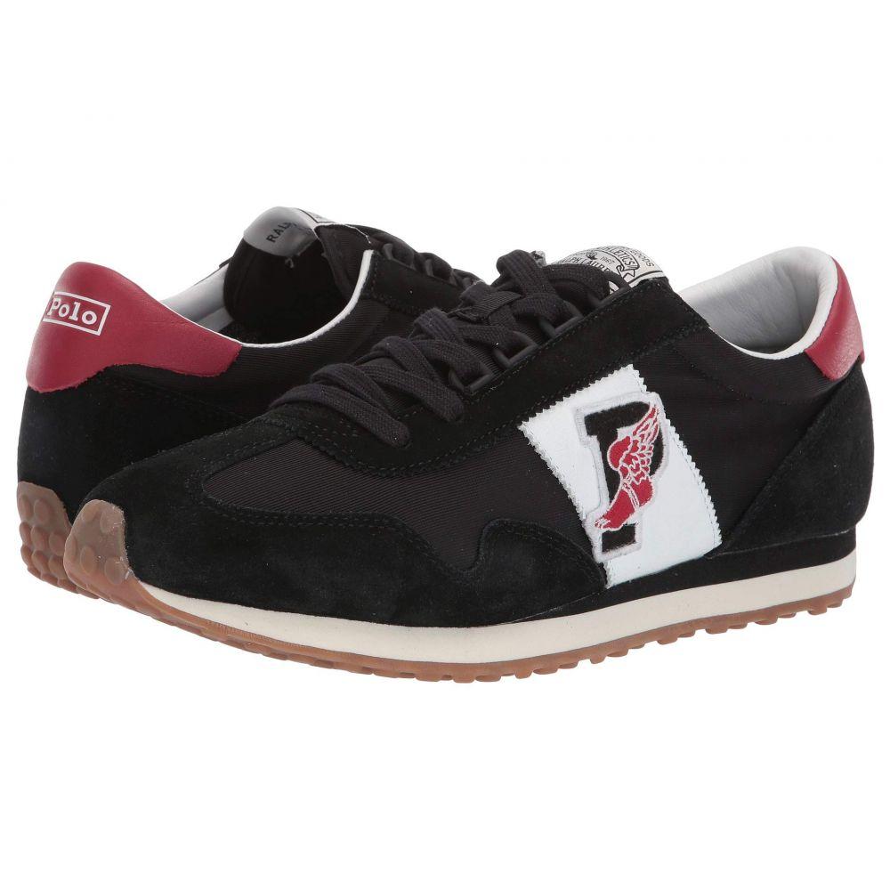 ラルフ ローレン Polo Ralph Lauren メンズ ランニング・ウォーキング シューズ・靴【Train 90】Black/Red Suede
