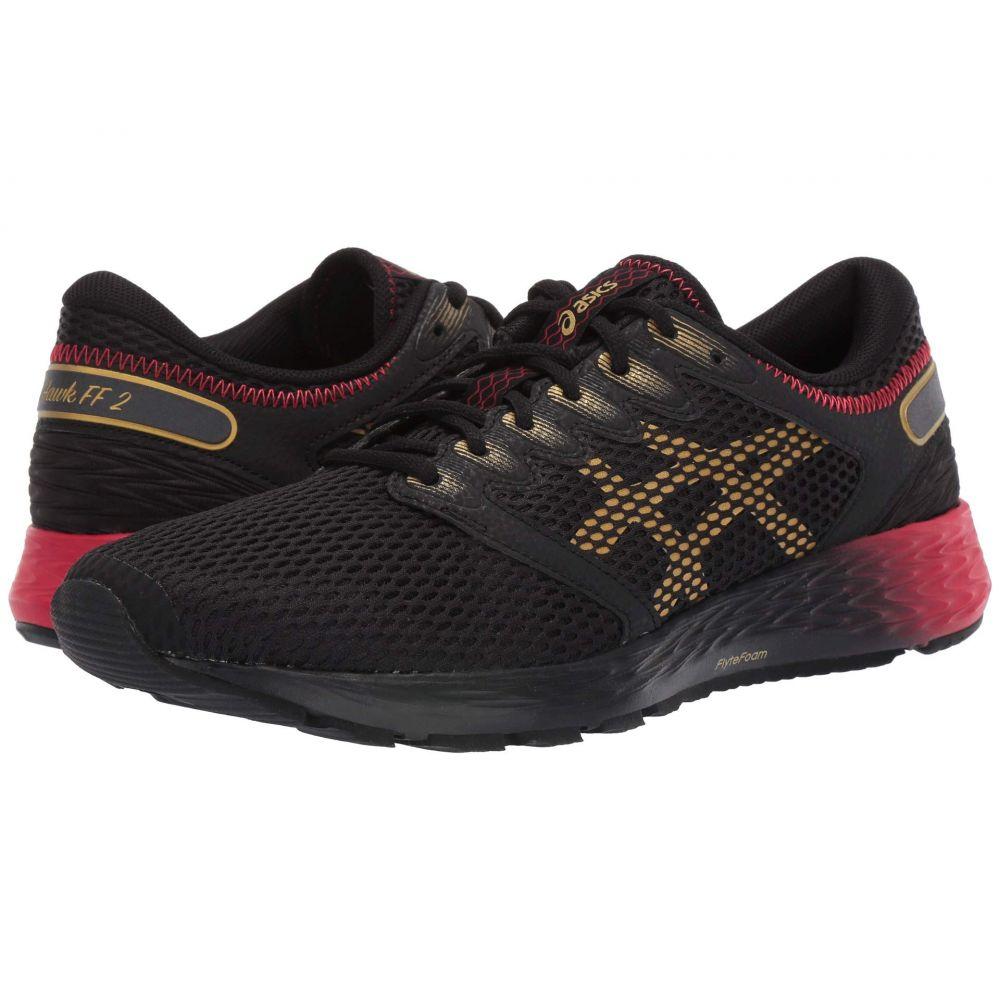アシックス ASICS メンズ ランニング・ウォーキング シューズ・靴【Roadhawk FF 2 MX】Black/Rich Gold