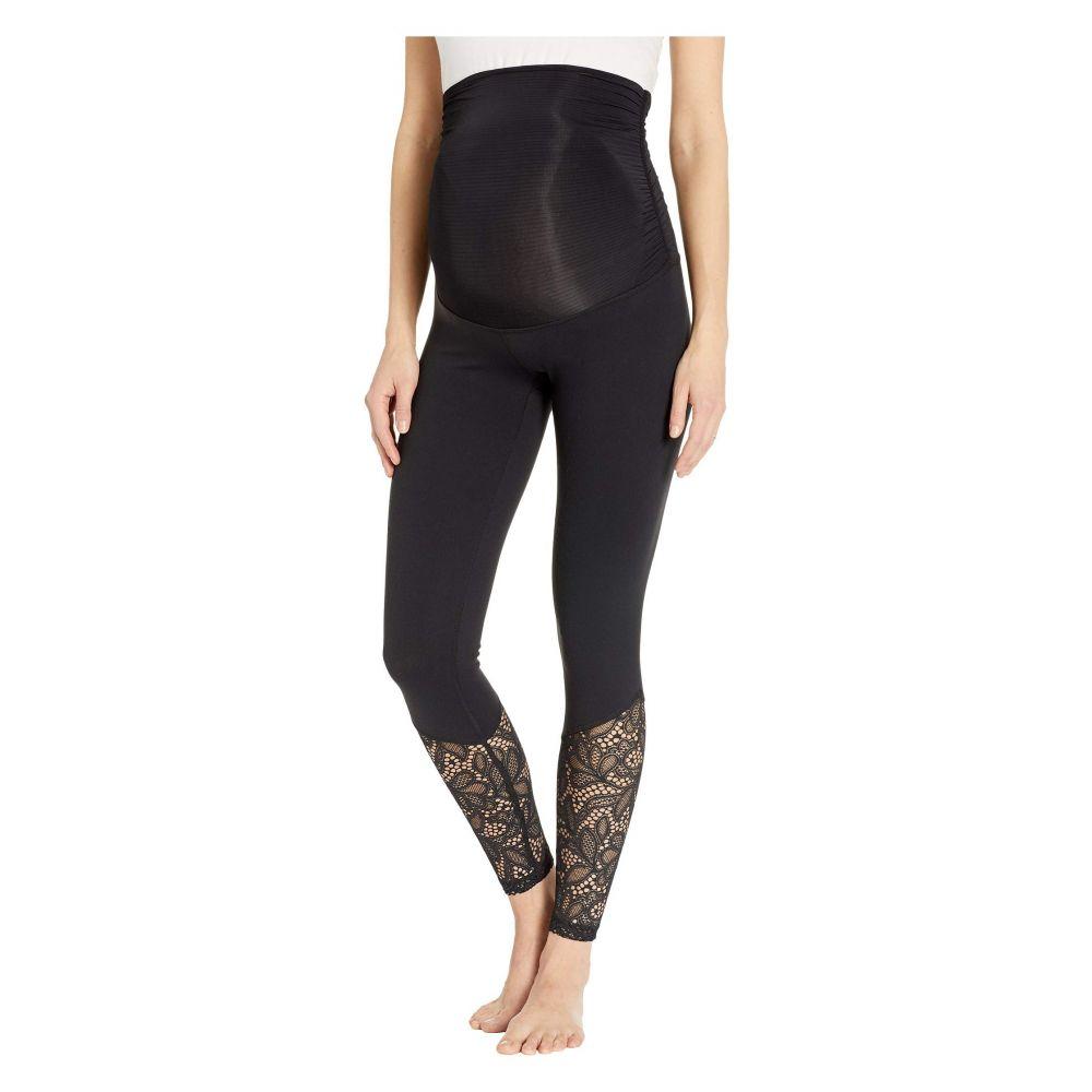 ビヨンドヨガ Beyond Yoga レディース インナー・下着 スパッツ・レギンス【Maternity Lace Midi Leggings】Jet Black