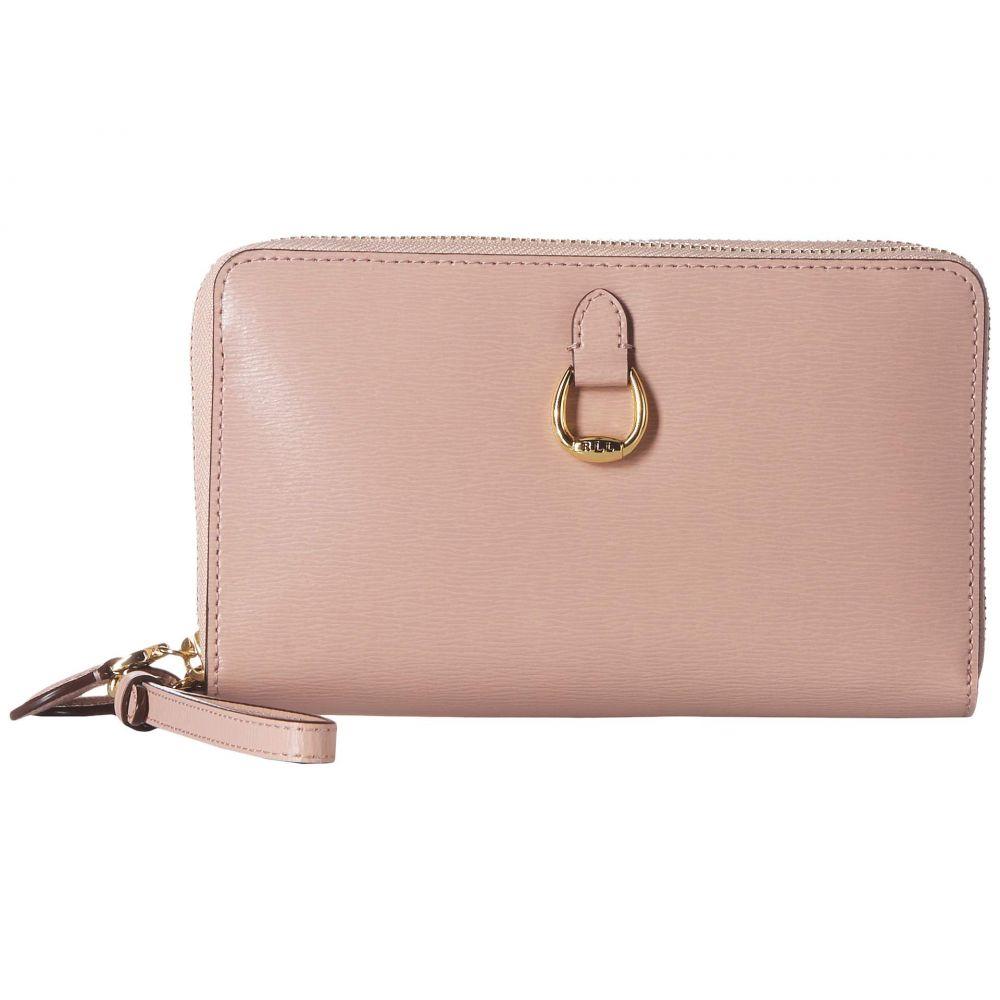 ラルフ ローレン LAUREN Ralph Lauren レディース スマホケース【Double Zip Phone Wristlet】Mellow Pink
