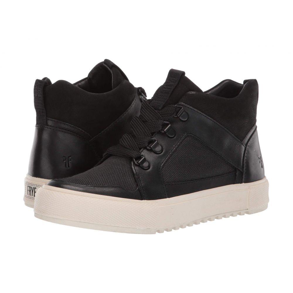 フライ Frye レディース シューズ・靴 スニーカー【Gia Lug Trail Sneaker】Black Soft Full Grain/Nubuck/Canvas