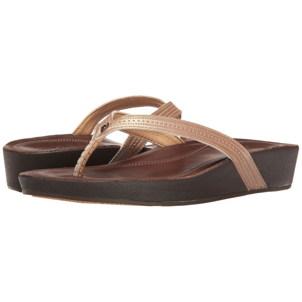 オルカイ OluKai レディース シューズ・靴 ビーチサンダル【Ola】Copper/Dark Java