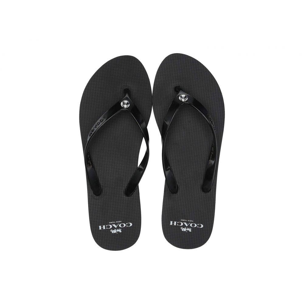 コーチ COACH レディース シューズ・靴 ビーチサンダル【Flip-Flop】Black