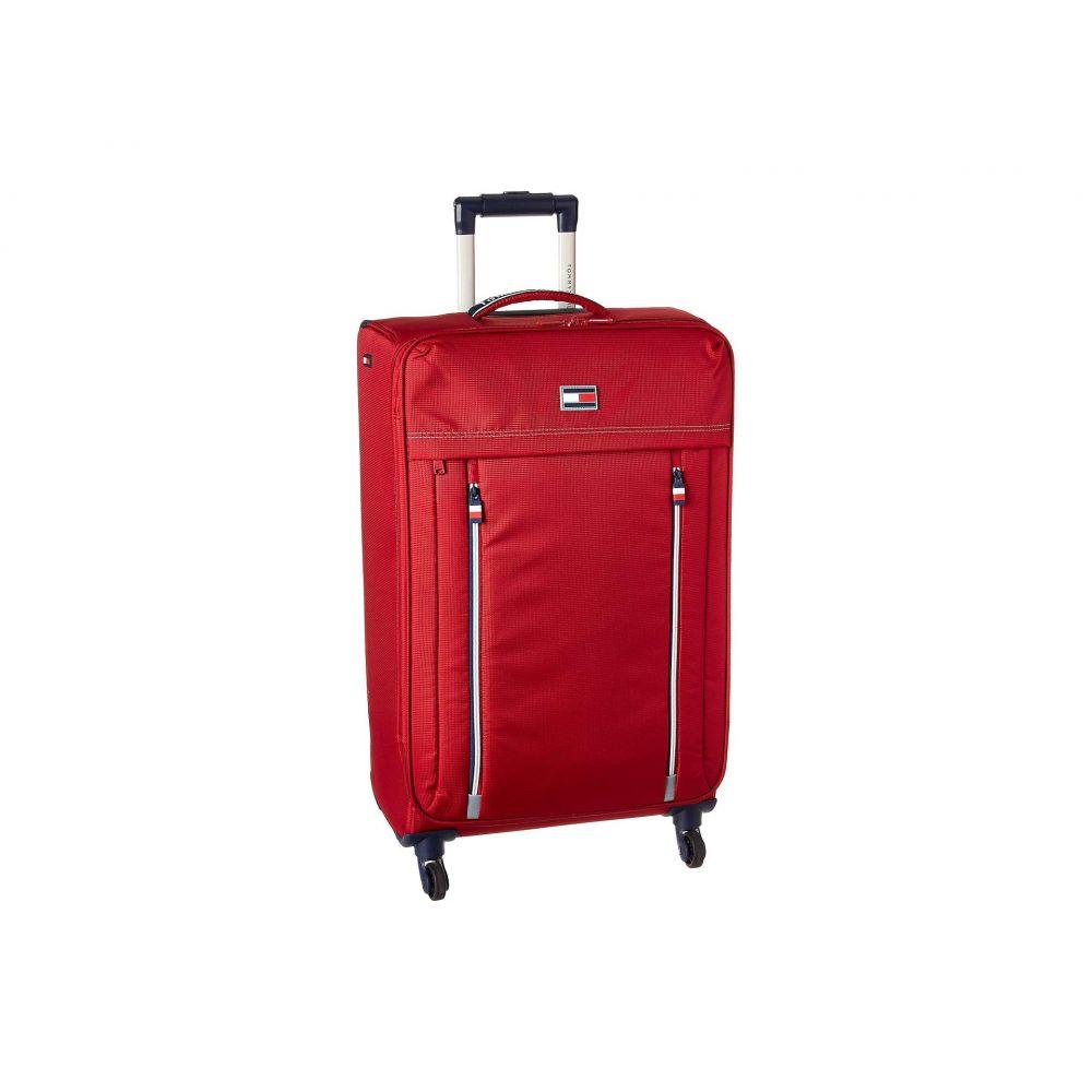 トミー ヒルフィガー Tommy Hilfiger ユニセックス バッグ スーツケース・キャリーバッグ【24 Casual XL Softside Upright】Red