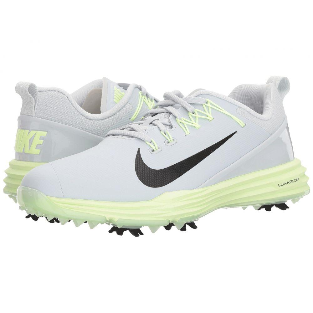 ナイキ Nike Golf レディース ゴルフ シューズ・靴【Lunar Command 2】Pure Platinum/黒/Barely Volt