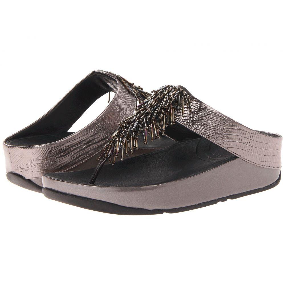 フィットフロップ FitFlop レディース シューズ・靴 ビーチサンダル【Cha Cha】Nimbus Silver