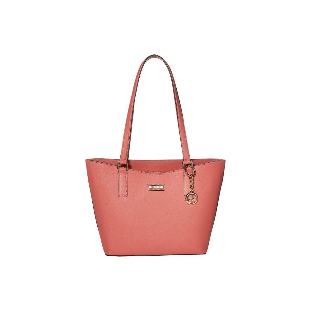 カルバンクライン Calvin Klein レディース バッグ トートバッグ【Key Item Saffiano Tote】Porcelain Rose