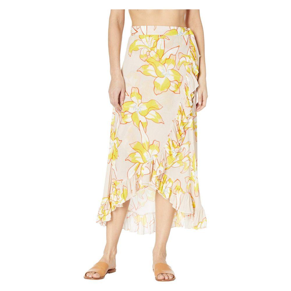 エコー Echo Design レディース 水着・ビーチウェア ビーチウェア【Lily Ruffle Wrap Skirt】Stone