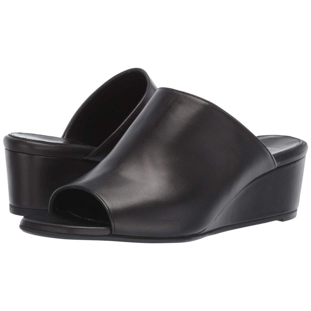 アクアタリア Aquatalia レディース シューズ・靴 サンダル・ミュール【Kayla】Black Nappa