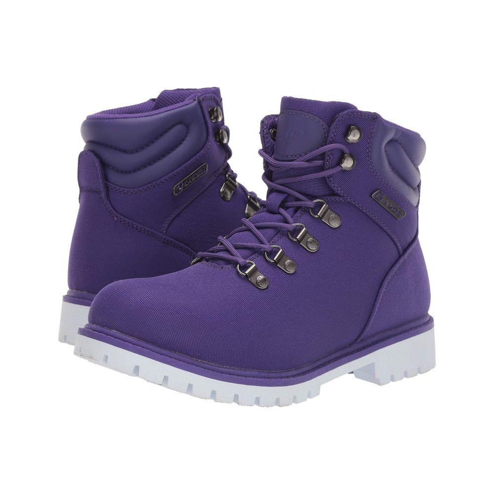 II】Purple/White ブーツ【Grotto シューズ・靴 Lugz レディース ラグズ