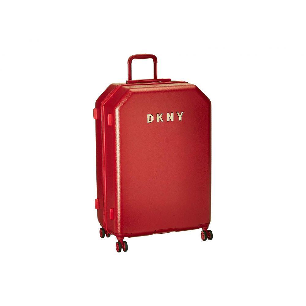 ダナ キャラン ニューヨーク DKNY レディース バッグ スーツケース・キャリーバッグ【28 Metal Logo Hardside Upright】Red