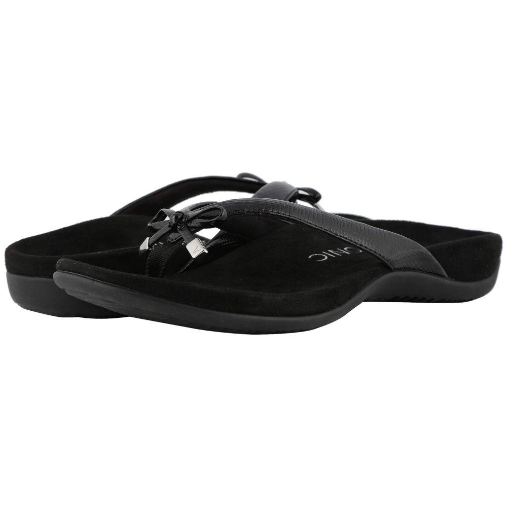 バイオニック VIONIC レディース シューズ・靴 ビーチサンダル【Bella II Lizard】Black