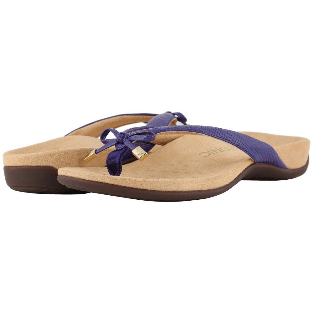 バイオニック VIONIC レディース シューズ・靴 ビーチサンダル【Bella II Lizard】Purple