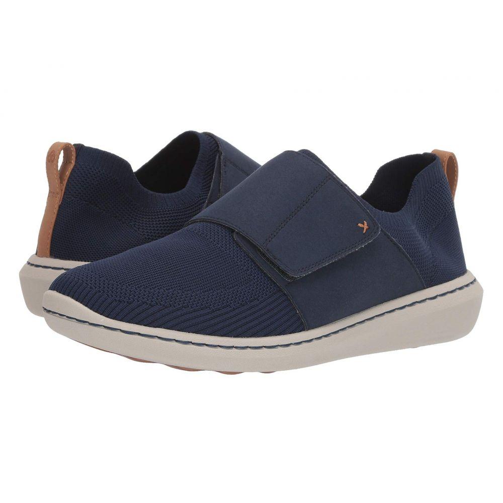 クラークス Clarks メンズ シューズ・靴 スニーカー【Step Urban Race】Navy Textile Knit