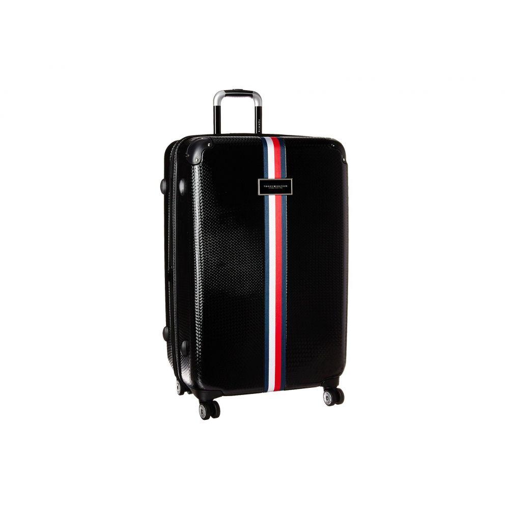 トミー ヒルフィガー Tommy Hilfiger ユニセックス バッグ スーツケース・キャリーバッグ【Basketweave 28 Upright Suitcase】Black