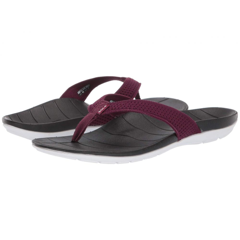 ソール SOLE レディース シューズ・靴 ビーチサンダル【Costa Flip】Mulberry