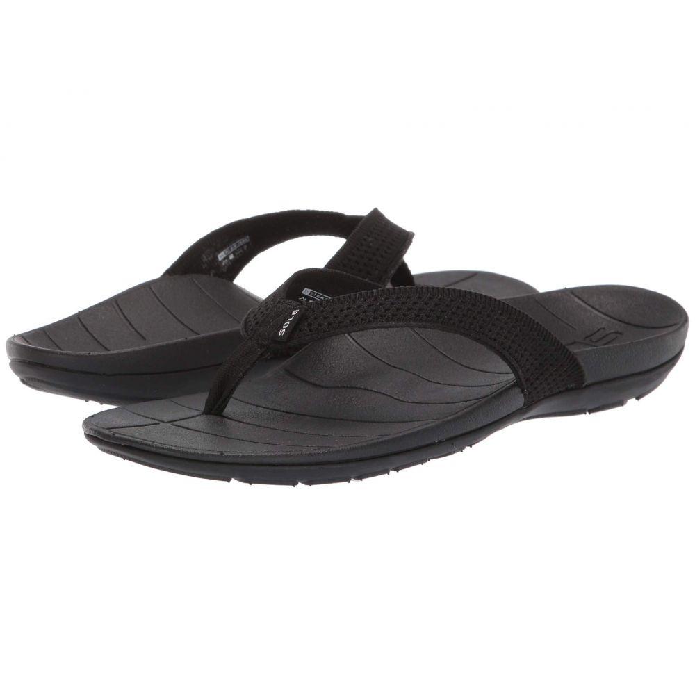 ソール SOLE レディース シューズ・靴 ビーチサンダル【Costa Flip】Black