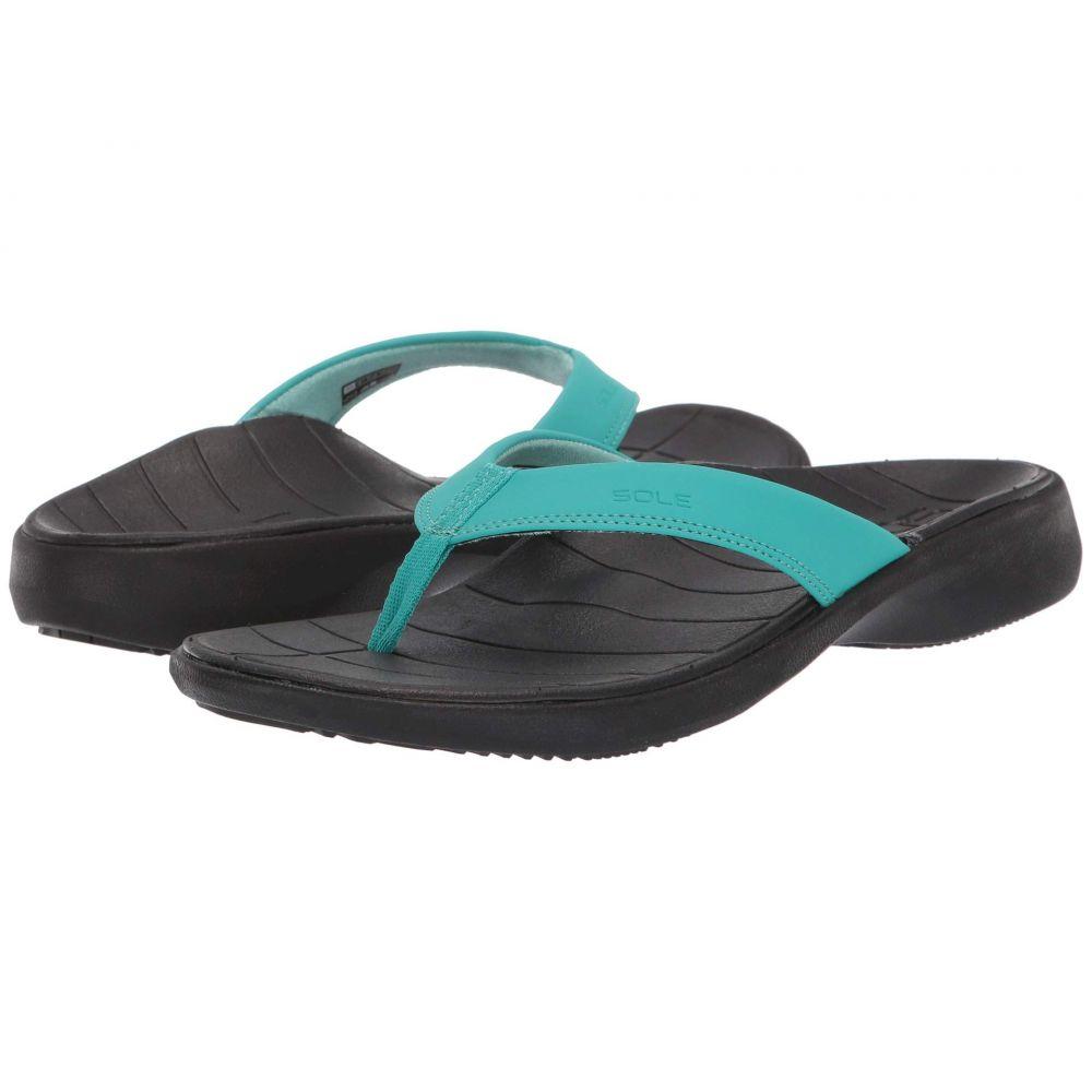 ソール SOLE レディース シューズ・靴 ビーチサンダル【Catalina Flip】Teal