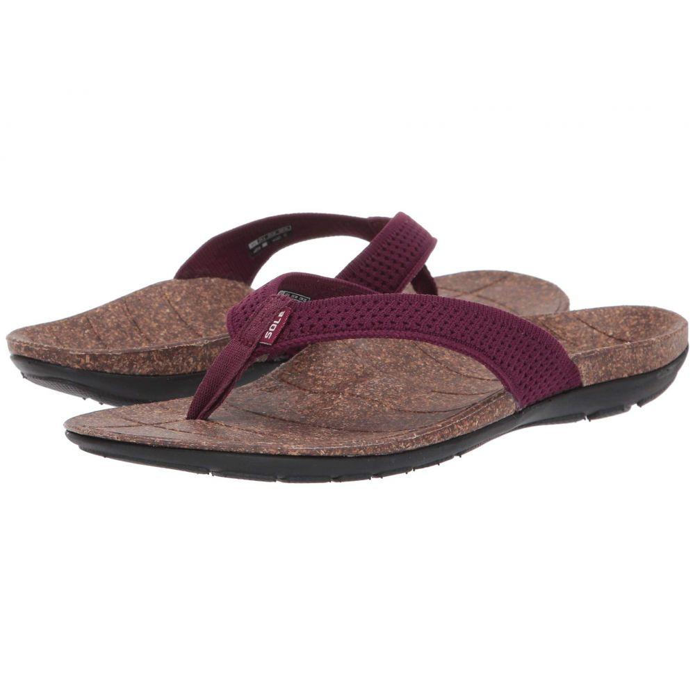 ソール SOLE レディース シューズ・靴 ビーチサンダル【Laguna Flip】Mulberry