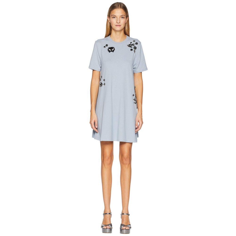マックイーン McQ レディース ワンピース・ドレス ワンピース【Babydoll Dress】Washed Porcelain Blue