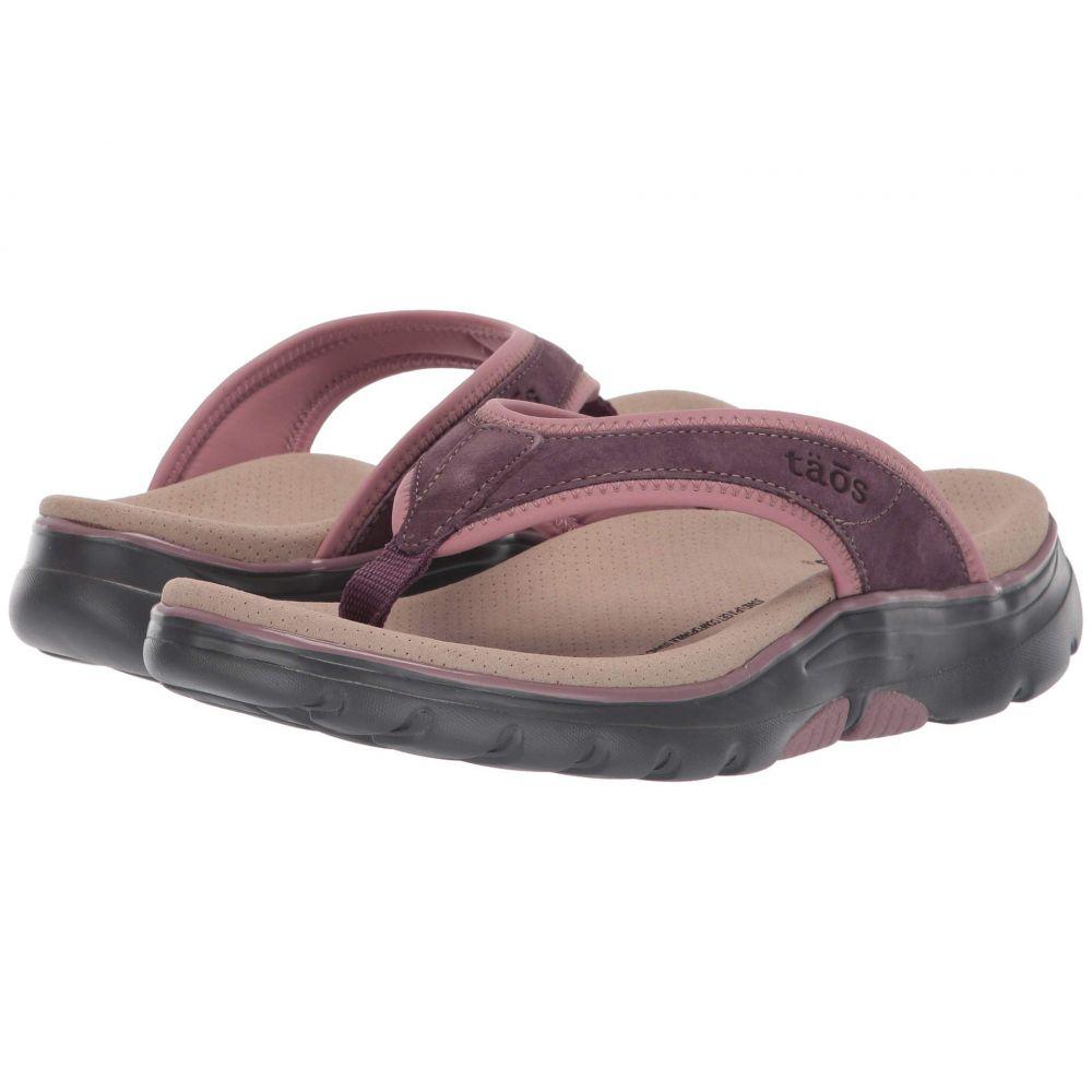 タオス Taos Footwear レディース シューズ・靴 ビーチサンダル【Aura】Mauve/Pink