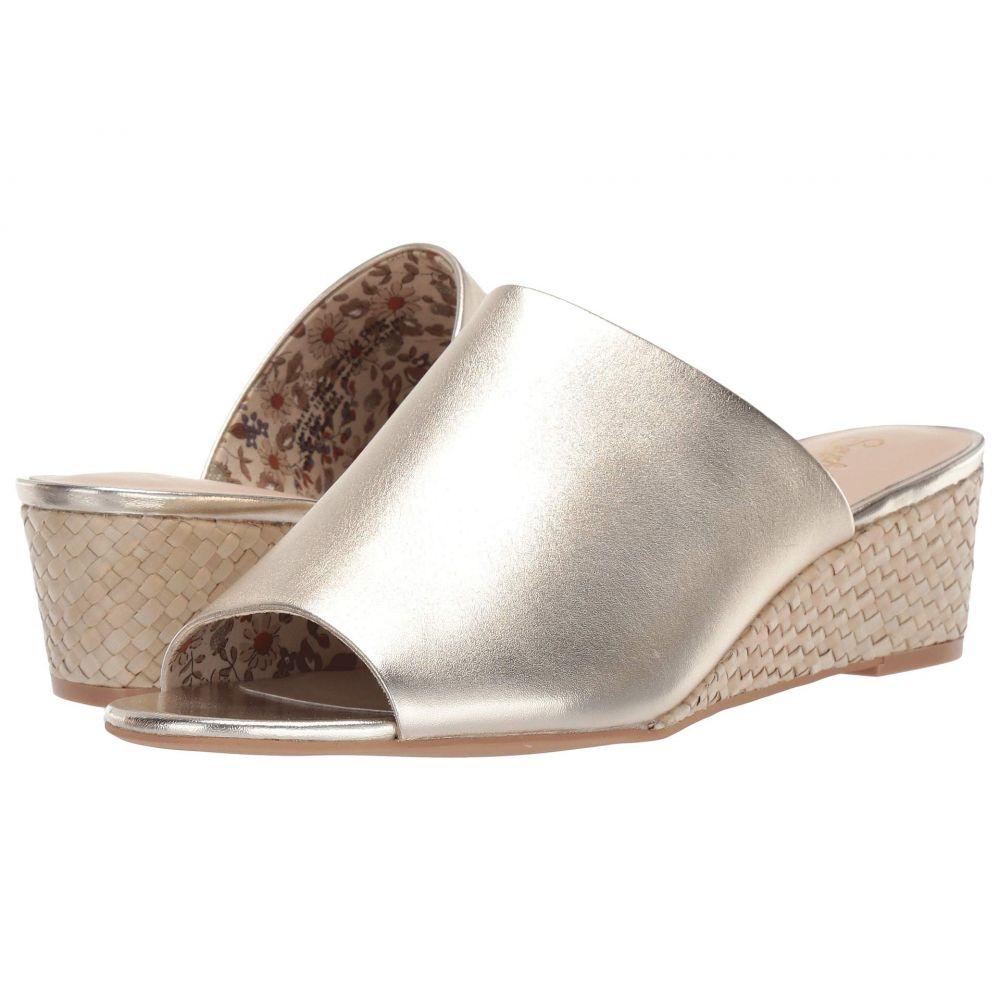 セイシェルズ Seychelles レディース シューズ・靴 サンダル・ミュール【Vendor】Gold Leather/Basketweave