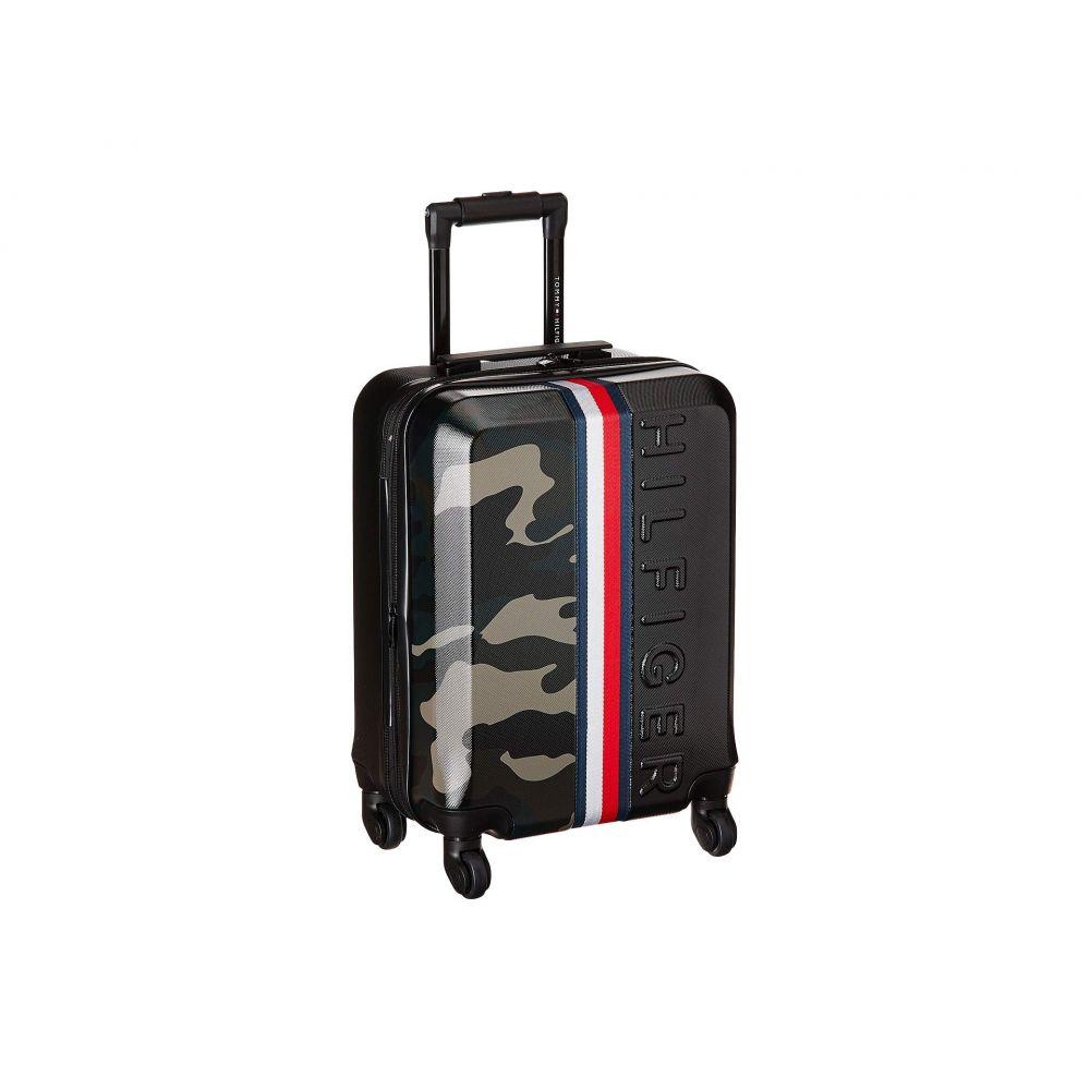 トミー ヒルフィガー Tommy Hilfiger ユニセックス スーツケース・キャリーバッグ バッグ【21 Vintage Sport Upright Suitcase】Black/Camo