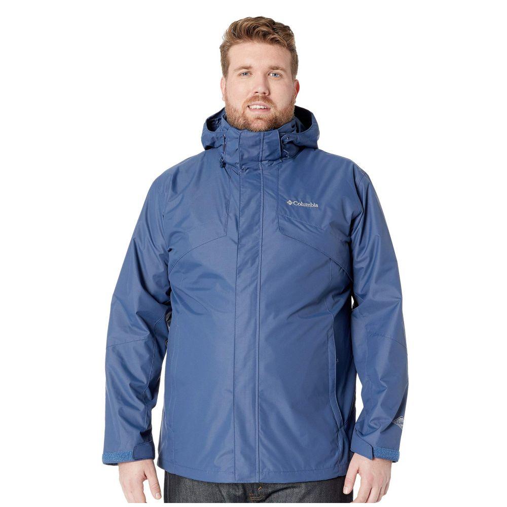 コロンビア Columbia メンズ スキー・スノーボード 大きいサイズ ジャケット アウター【Big & Tall Bugaboo II Fleece Interchange Jacket】Dark Mountain/Red Spark Buffalo Camo/Black