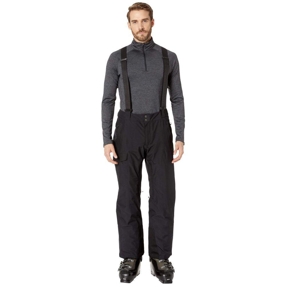 スパイダー Spyder メンズ スキー・スノーボード ボトムス・パンツ【Sentinel Regular Pants】Black/Black