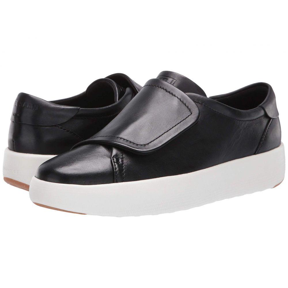 コールハーン Cole Haan レディース テニス シューズ・靴【Grandpro Tennis Flatform Monk】Black/Optic White