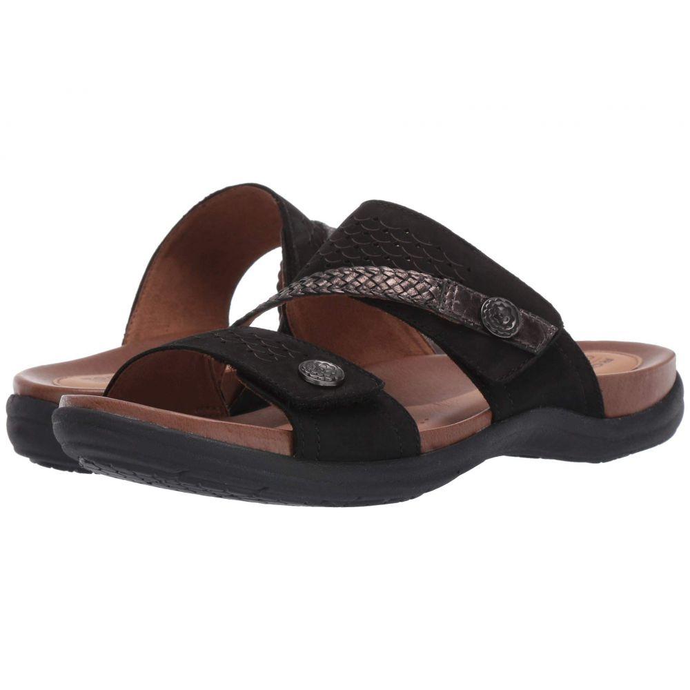ロックポート Rockport Cobb Hill Collection レディース サンダル・ミュール シューズ・靴【Rubey Asym Slide】Black