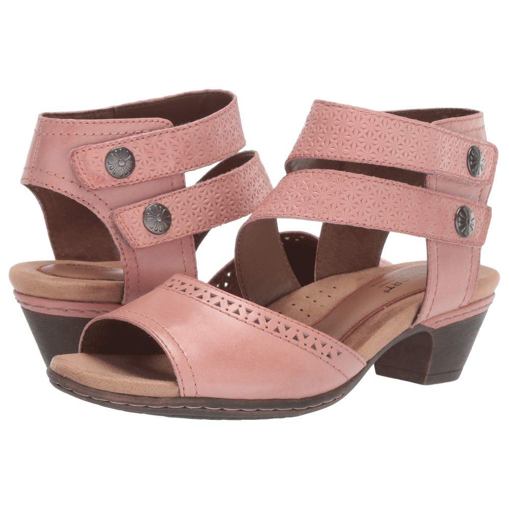 ロックポート Rockport Cobb Hill Collection レディース サンダル・ミュール シューズ・靴【Abbott Two-Piece Cuff】Pink