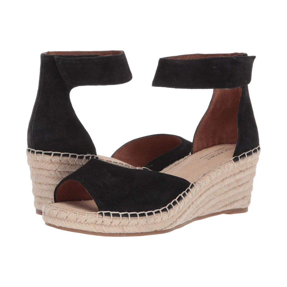 ロックポート Rockport Cobb Hill Collection レディース サンダル・ミュール シューズ・靴【Kairi Two-Piece Ankle】Black